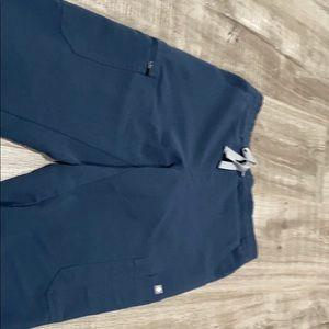Figs scrub pants- in color dark harbor
